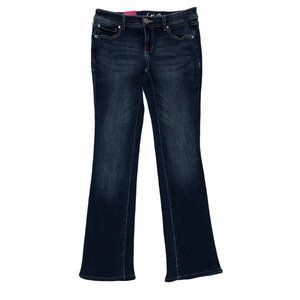 INC DENIM Women's Dark Wash Boot Leg Jeans 2P